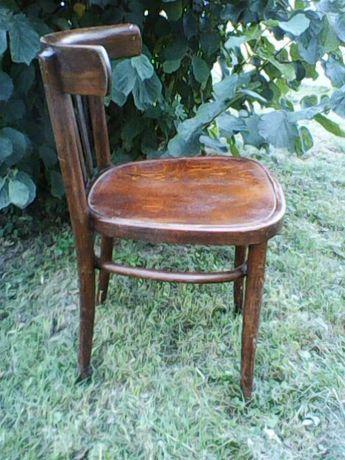Krzesła retro (4 szt.) Thonet Radomsko