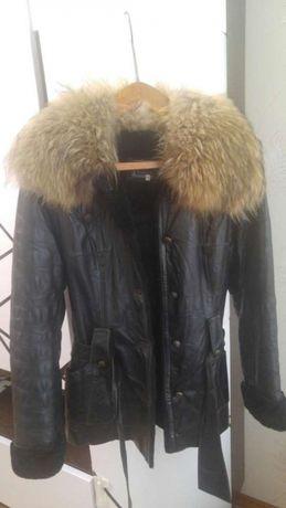 натуральная дубленка женская куртка зимняя кожаная