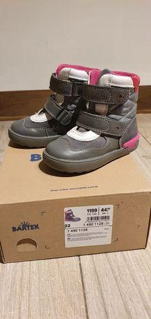 Buty Bartek zimowe ciepłe rozm 22 dł 14.5 cm jak nowe