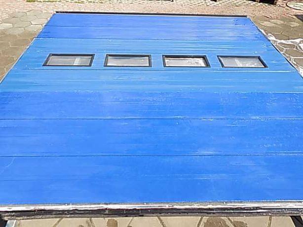 Brama segmentowa , panelowa 405cmx 418cm
