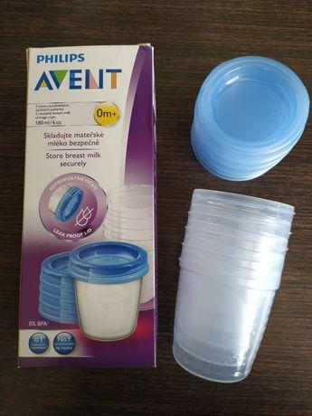 Контейнеры Philips AVENT для хранения грудного молока 5 x 180 мл