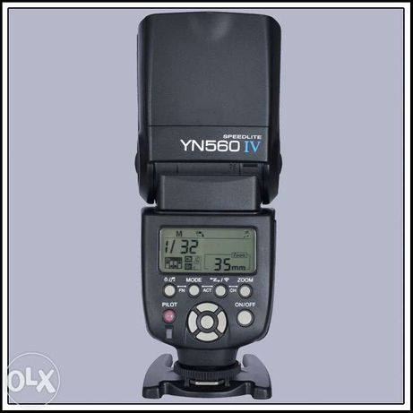 Вспышка Yongnuo YN560 IV (YN-560IV, YN560-IV) + колпачок-рассеиватель