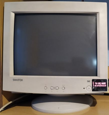 Monitor CRT Samtron 15 cali