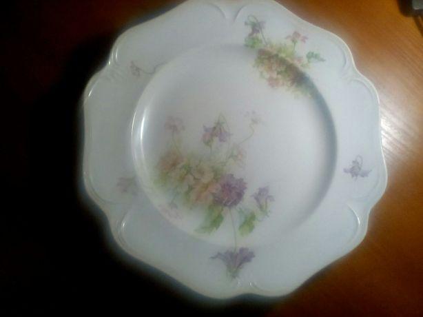 Продам фарфоровую тарелку завода кузнецова