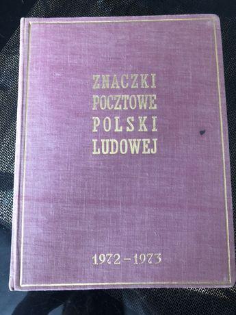 Znaczki pocztowe PRL 72/73