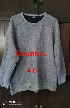 Camisola tamanho L
