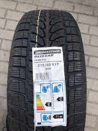 Bridgestone Blizzak 215/60 17 Zima Nowe Komplet