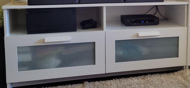 Móvel TV branco BRIMNES IKEA