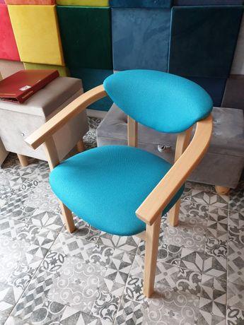 Krzesło typu fotelikowego Krzyś idealne do hoteli i pensjonatów