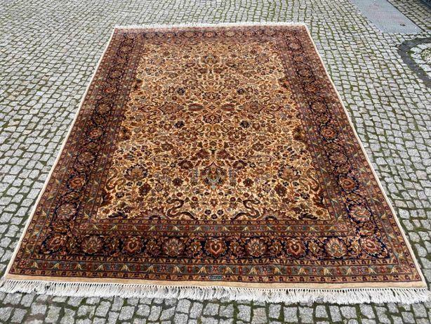 Kaszmirowy dywan perski Indo-Ispahan 305x210 sklep 25 tys