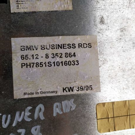 Tuner moduł RDS BMW E38 sprawny 100%