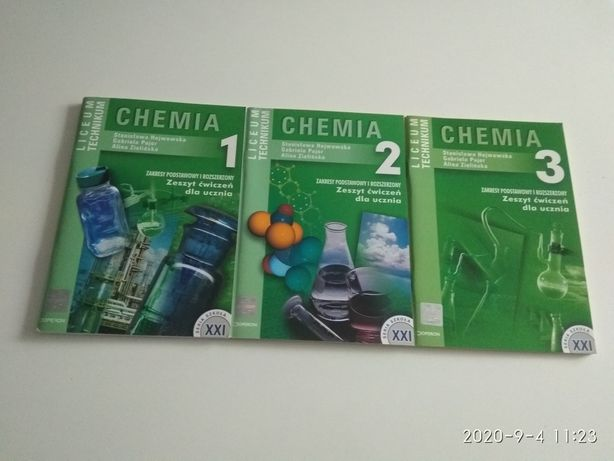 Książki do chemii