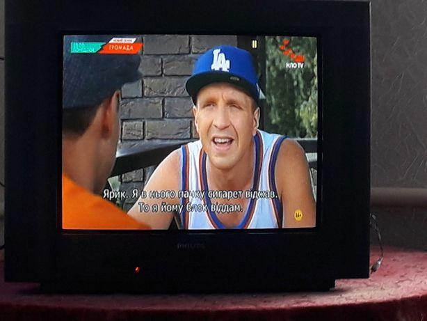 Телевизор PHILIPS диагональю 21 дюйм (54)см.