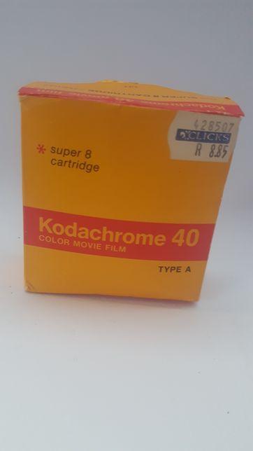 Kodachrome 40 color movie film type A film klisza do kamery