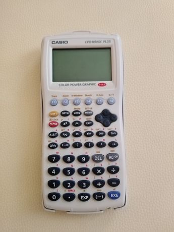 Calculadora casio CFX-9850GC plus