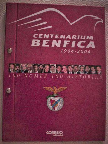 Livro: CENTENARIUM BENFICA (1904/2004), como novo