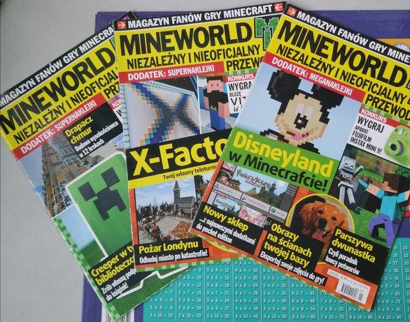 """""""Mineworld""""  zadbane trzy pierwsze numery 2018"""