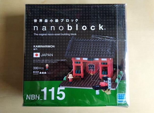 Klocki Nano Block Kaminarimon NBH 115 NOWE FOLIA