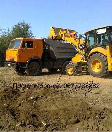 Чорнозем земля ґрунт пісок бій дешевий щебінь Асвальт  глина сміття