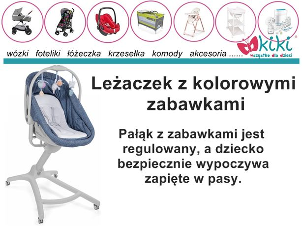 Łóżeczko/Krzesełko Chicco Baby Hug 4w1