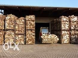 Drewno kominkowe Suche BUK DĄB JESION GRAB gotowe do palenia