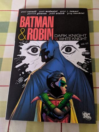 Batman & Robin: Dark Knight vs. White Knight (Hardcover)