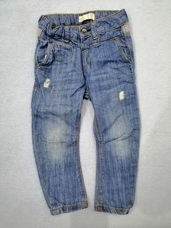 Zara jeansy 2/3 latka