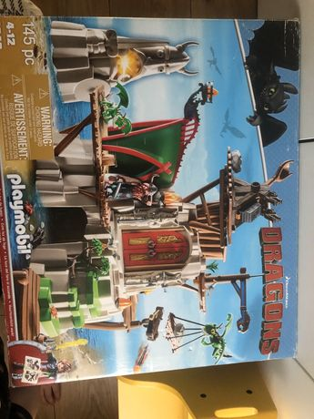 PLAYMOBIL Dragons Wyspa Berg 9243