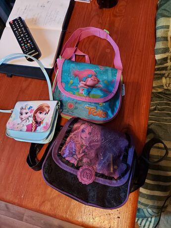 Trzy torebki dla dziewczynki