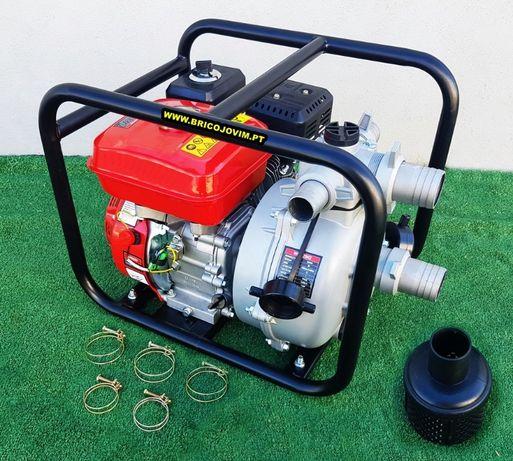 Motobombas Alta Pressão Novas - Motor 7cv - Elevação 55mts - 32.000L/H