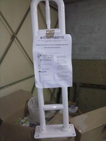 Barra de apoio para deficientes