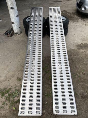 Трапи для лафет лавети ALU 2.5 м