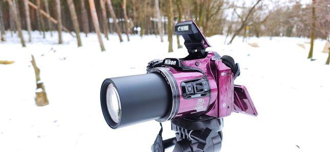 Nikon B500+WiFi+Сумка+40Х-Зум,Как Новый!!Фотоаппарат,не Canon,Sony