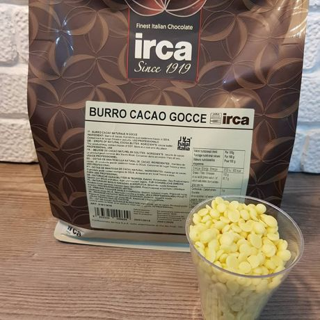 Какао-масло в дропсах ТМ IRCA