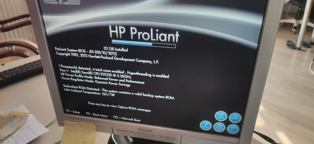 Сервер hp dl120g7