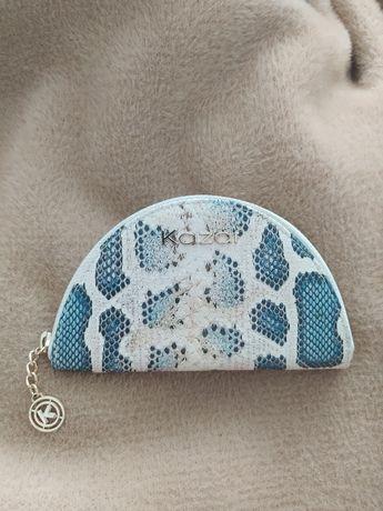 nowy portfel portfelik na karty kazar wezowy wzor okazja
