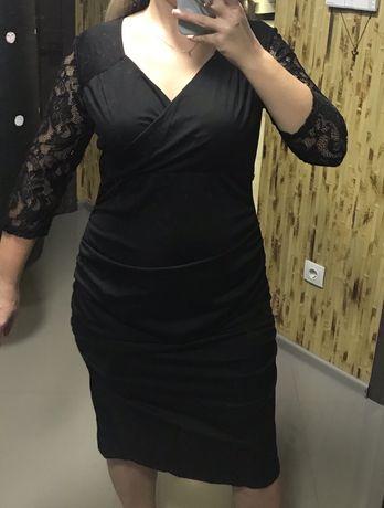 Плаття чорного кольру нове XL