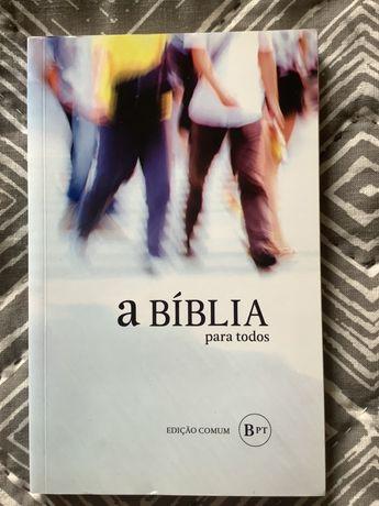 a BÍBLIA para todos - Edição Comum