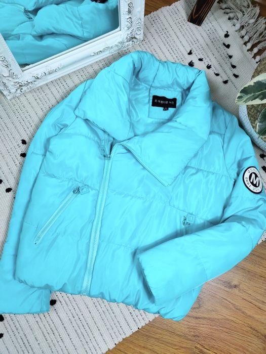 Курточка косуха бирюзовая Херсон - изображение 1