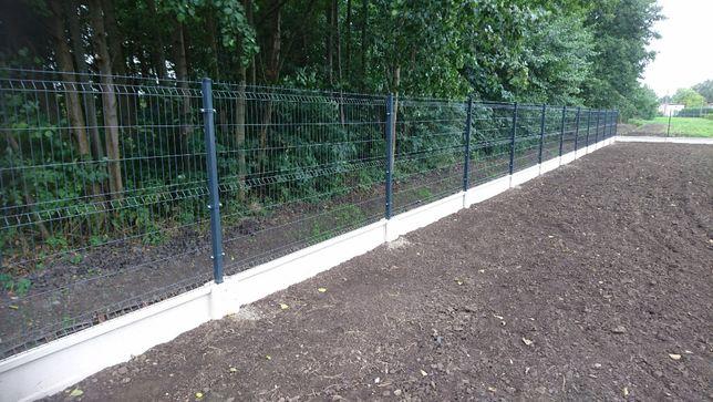 Panele Panel ogrodzeniowy fi 4 h=153cm 50x200 3d ocynkowany + RAL