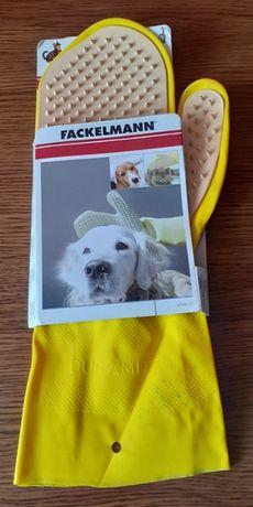 Rękawica do czesania zwierząt Fackelmann - nowa!
