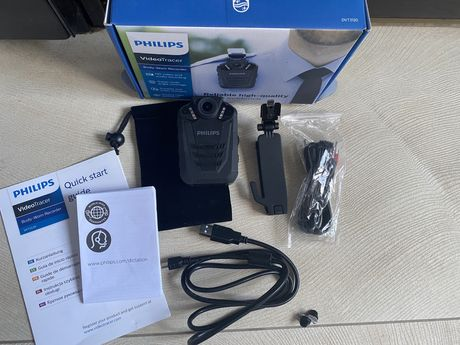 Philips DVT3120 BODY-Recorder nagrywanie wideo i audio HD video tracer