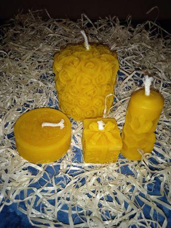 Восковые свечи,свечи из пчелиного воска,свечи
