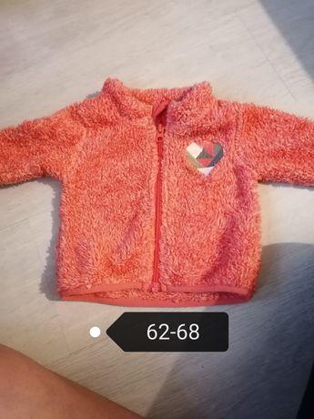 Bluzy cieple 62-68