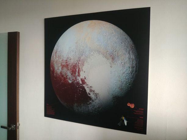 Фото Плутона - космос (100х100см)