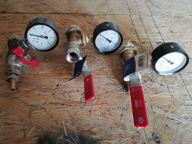 Zestaw sprawdzania ciśnienia instalacji wodnej