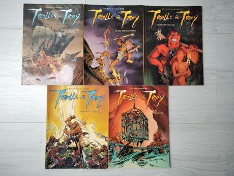 Komiks Trolle z Troy 5 pierwszych części w stanie bardzo dobrym