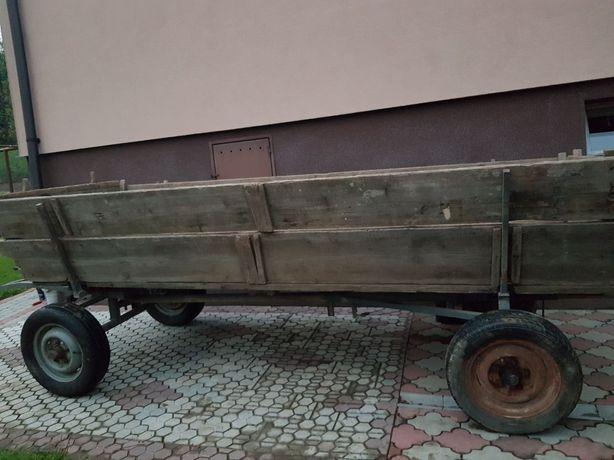 Wóz metalowy hamulce