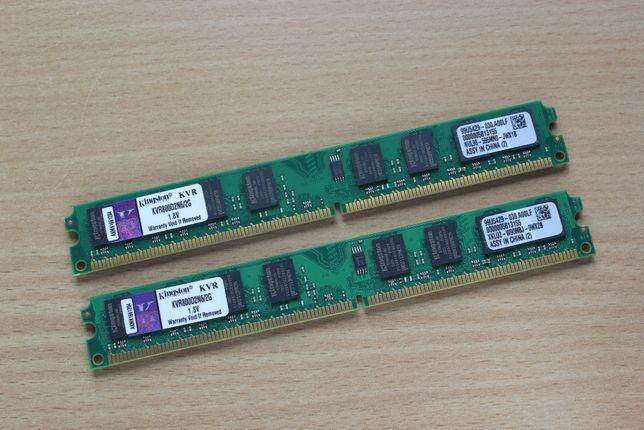 Pamięć Kingston DDR2 2x2 (4GB) PC2-6400 / 800MHz nowa !!!