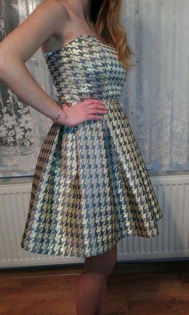 Piekna sukienka na sylwester, studniówkę, wesele itp